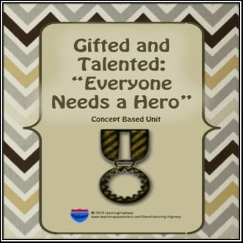 WHAT is a hero?  WHO is your hero?In this concept based unit, students will learn about the men and women whose achievements have made a direct or indirect influence in the lives of others. Students will explore the distinction between a hero and a celebrity.