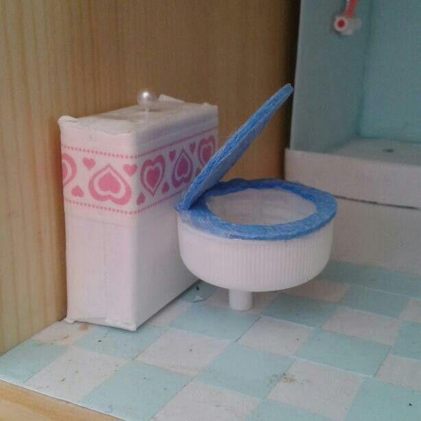 Diy toilett