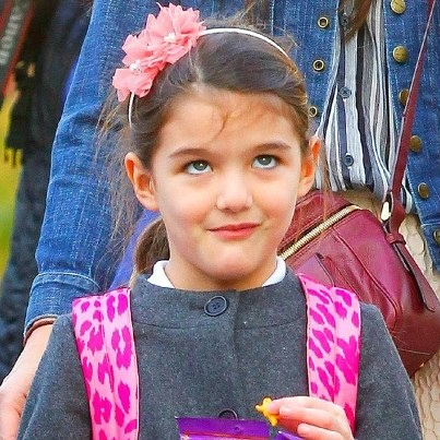 "Suri Cruise wearing our ""Chloe"" headband  http://www.livandlily.com/ecom/index.php?route=product/category=20_105"