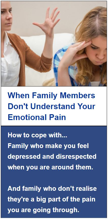 In this article I will be highlighting common problems that get people stuck in cold and difficult un-empathetic families.  I will reveal the most effective way of thinking about and dealing with these problems so that you can cope better regardless of the negative experiences you are encountering within your own family situation.  Then I will share 5 steps you can begin to use today for moulding a supportive family network around yourself.