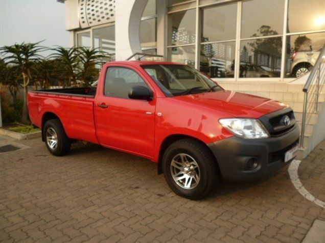 Make a Lasting Impression with this, 2011 #Toyota #Hilux (Facelift I) 2.0 VVTi. This Bakkie is Red in colour and has a Sporty 2.0 Petrol Engine. It is comes with a Manual Transmission and a Low Mileage of 95 400Kms, Priced for you at a Cut-Priced Deal of R150 990. Wonderful Extra's: ABS / Alarm / Leather Seats / Leather Trim / Rubberised Load Bin / Towbar. Contact Keith Rabilal Now on 082 323 1303 / 031 737 1500 or Email keithr@smg.co.za Like Us…