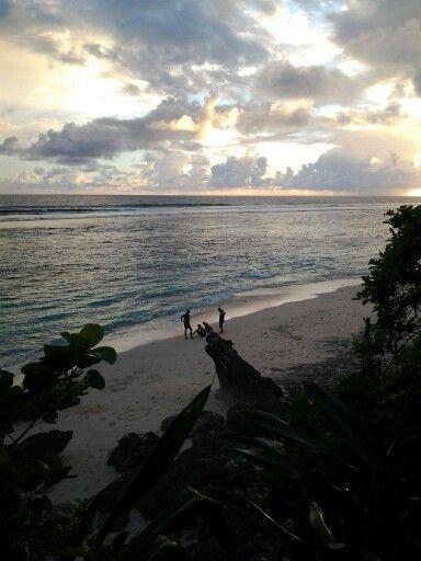 sunset at karma resort bali..