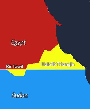 bir tawil border dispute