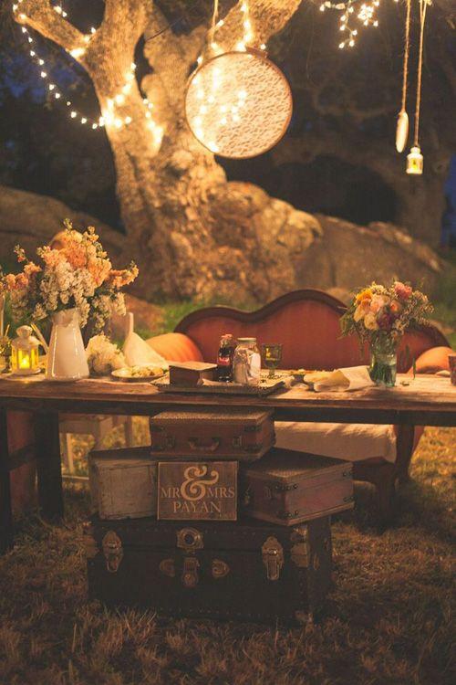 boho chic wedding idea 15
