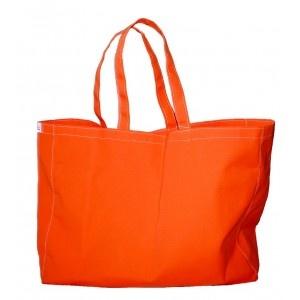 """Bolso multiuso """"Naranja"""". Hecho de lona náutica. Diseñado y fabricado por Decosta."""
