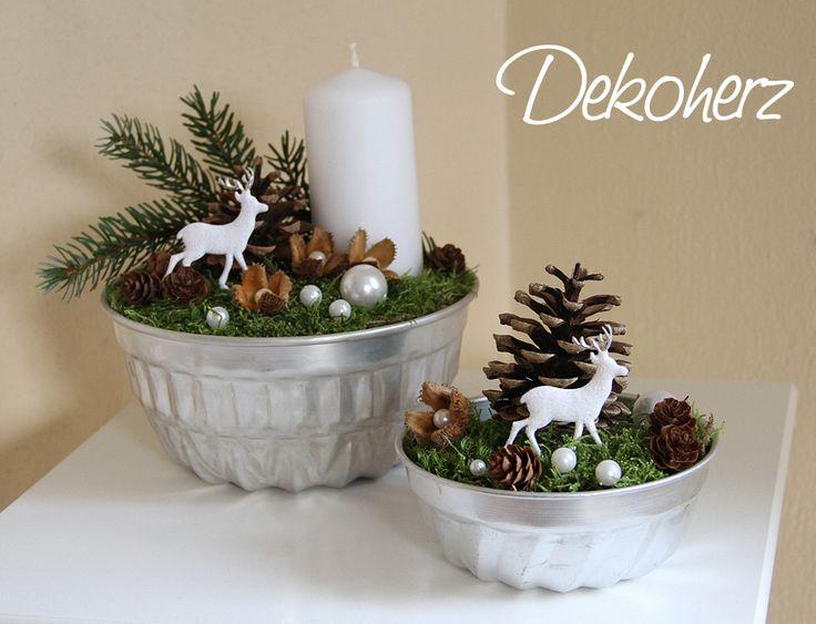 Ber ideen zu weihnachtsgestecke auf pinterest for Gestecke fa r weihnachten selber machen