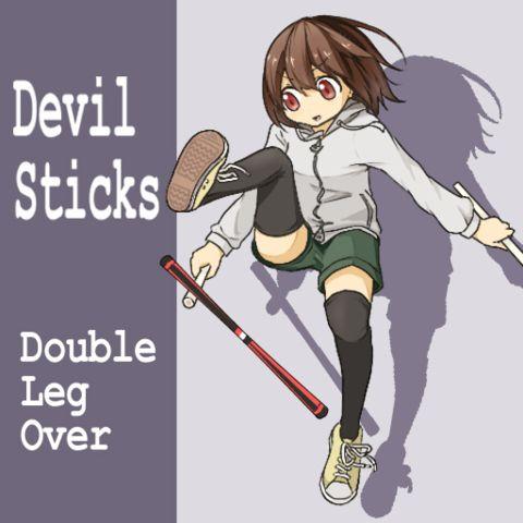 Devilsticking jump