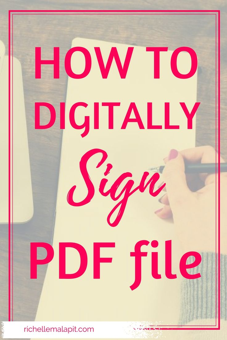 Let me show you a quick video tutorial on how to digitally sign pdf document. This tutorial will show you how to add signature on PDF file/