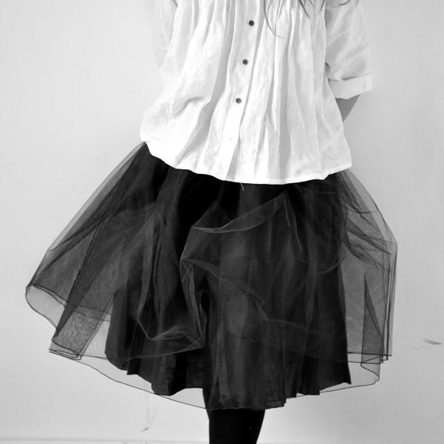 La Vestiare de Jeanne.  Maybe I'll just start wearing tutus every day.  So festive.