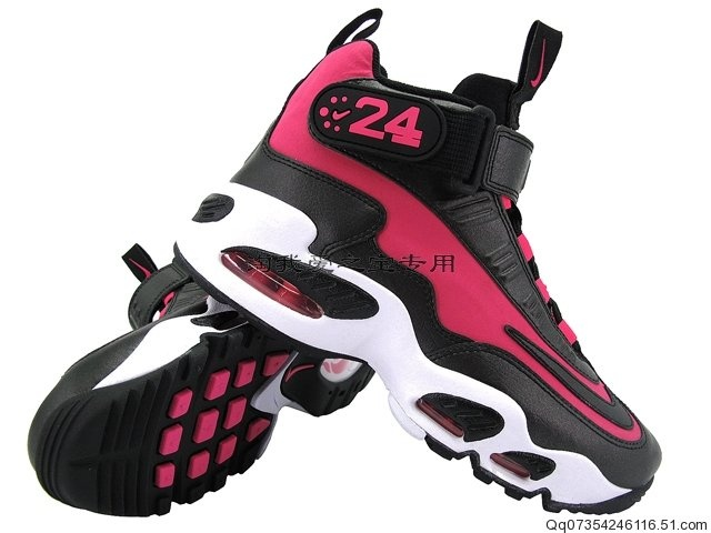 Ken Griffey Jr Shoes Pink And Black