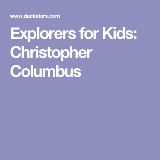 a look at christopher columbus the greatest explorer Christopher columbus - birth of an explorer he was raised in the shadows of medieval gates behind him and the open sea in front of him -- the perfect backdrop for a boy looking for adventure christopher's father was a respectable middle-class man who made a career of weaving wool.