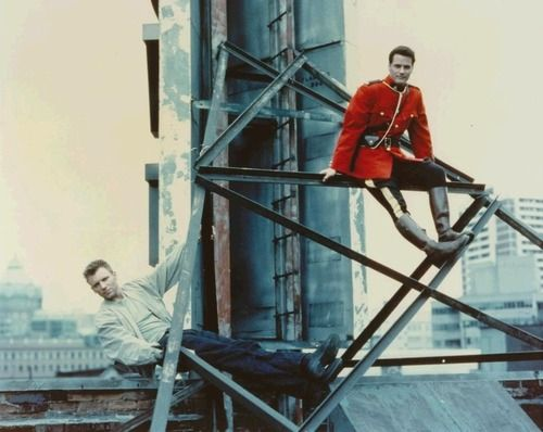 Callum Keith Rennie & Paul Gross, Due South
