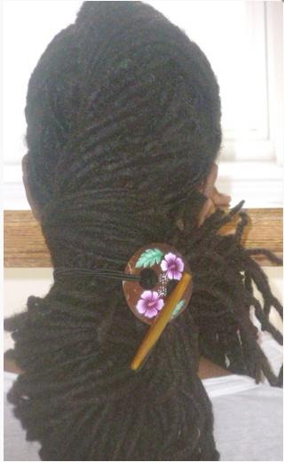 Beautiful dreadlock pinup