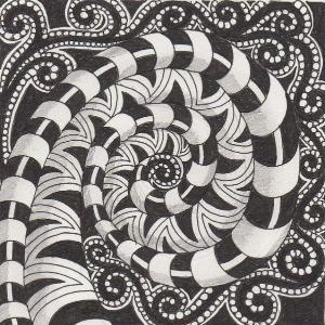 #doodle #zentangle #zendoodle by Kamithina1