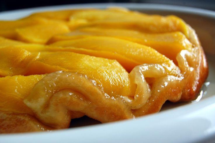 Tarte tatin mangue & gingembre | Torchons & Serviettes