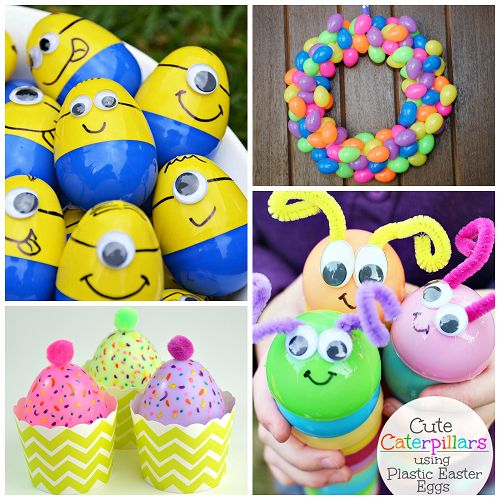Easter Things: Creative Things To Make Out Of Plastic Easter Eggs