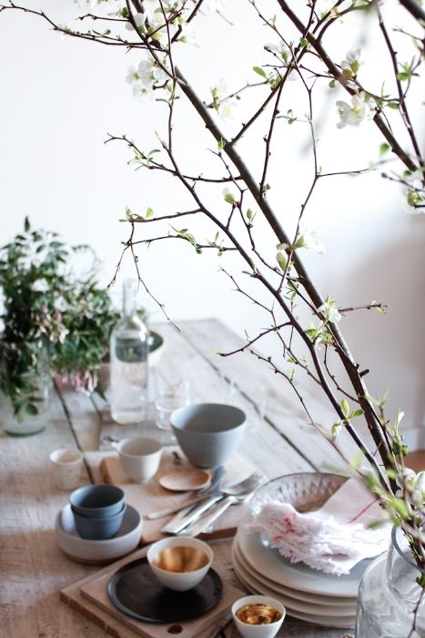 Prop-styling with Kim Ficaro  http://eye-swoon.com/kim-ficaro-table-setting/