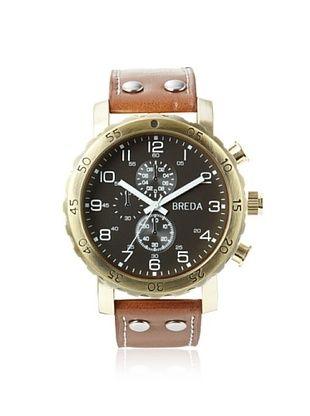 43% OFF Breda Men's 1635 Steve Brown/Black Alloy Watch