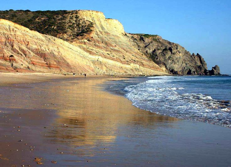 Praia-da-Luz, looking towards Rocha Negra (Black Rock) - Portugal