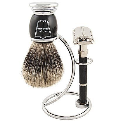 Parker 96R Safety Razor Shave Set - Includes Pure Badger Brush, Stand Parker 96R Butterfly Open Safety Razor by Parker Safety Razor. $69.99. Save 22% Off!. http://yourdailydream.or... #wetshaving http://beststraightrazor.net/