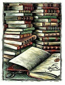 Books books books ❤ ...