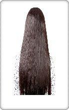 extension rajout cheveux à clips lisse
