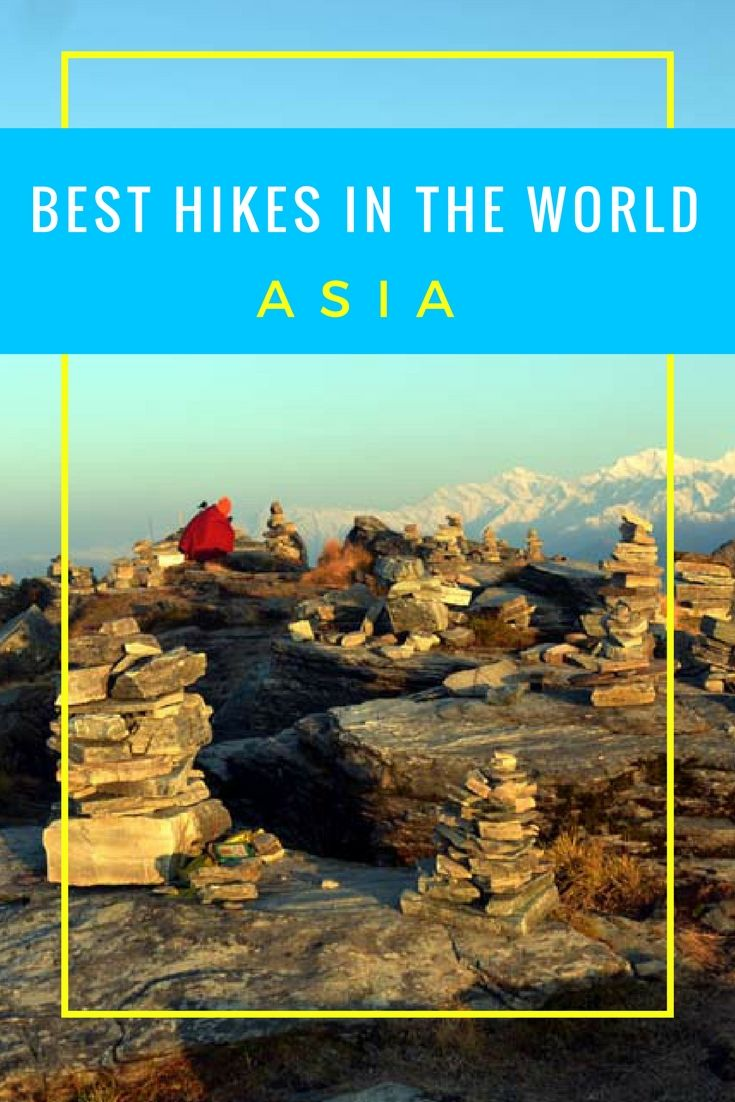 Best Hikes in the World: Asia.