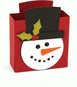 Diseño de la silueta tienda - Ver Diseño # 69933: Caja de regalo del muñeco de nieve grande 3d