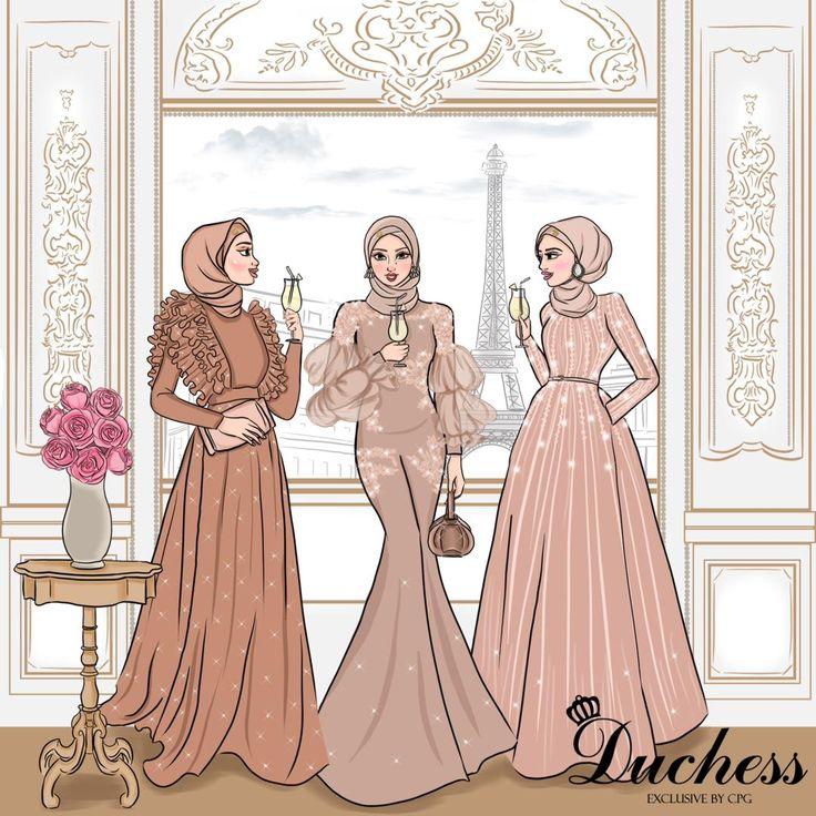 Gambar Ilustrasi model pakaian oleh Wulan purnama Sari