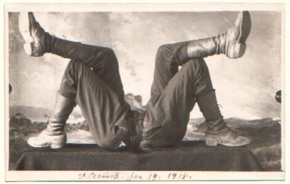 Personal photo postcards from the early 1900s.