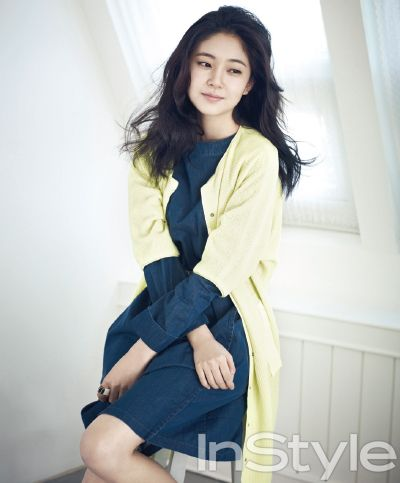 Baek Jin-hee // InStyle Korea // April 2013