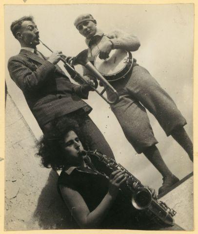 Etel Fodor-Mittag, Bauhaus band