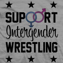 """Candice LeRae """"Support Intergender Wrestling"""" shirt"""