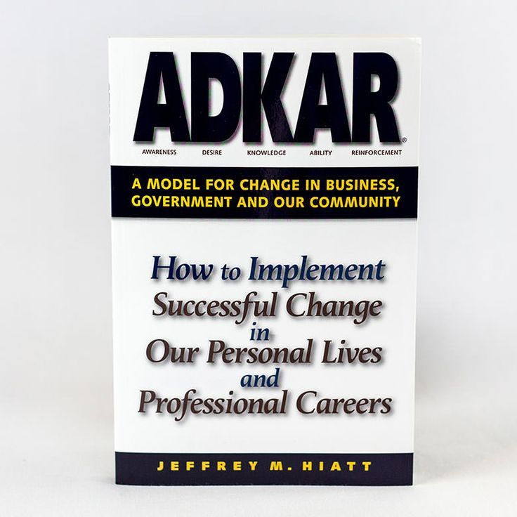 ADKAR: A Model for Change