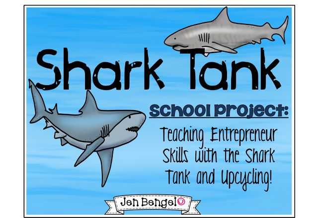 Who doesn't love the show Shark Tank!?  Check out this blog post about how we are using the show to teach entrepreneur skills!!