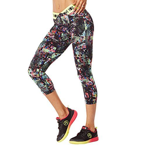 Zumba Fitness Damen Wb Legging Get Charged Up V Waistband...