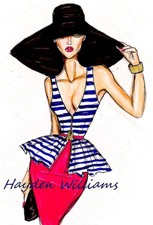 196 Best Fashion Sketches Images On Pinterest