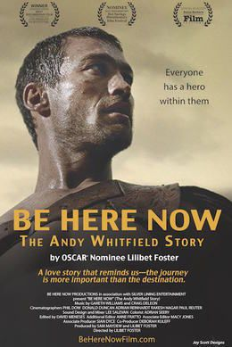 Please join us for a an exclusive, one night only screening of Be Here Now The Andy Whitfield Story.​