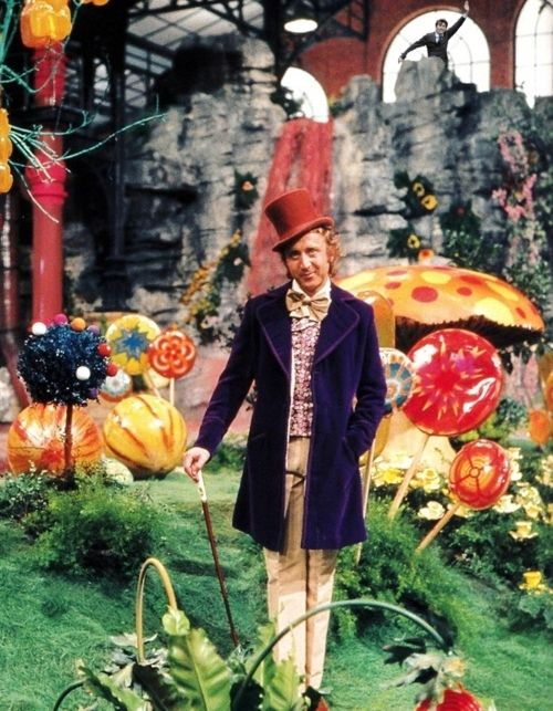 Gene Wilder as Willy Wonka, 1971.