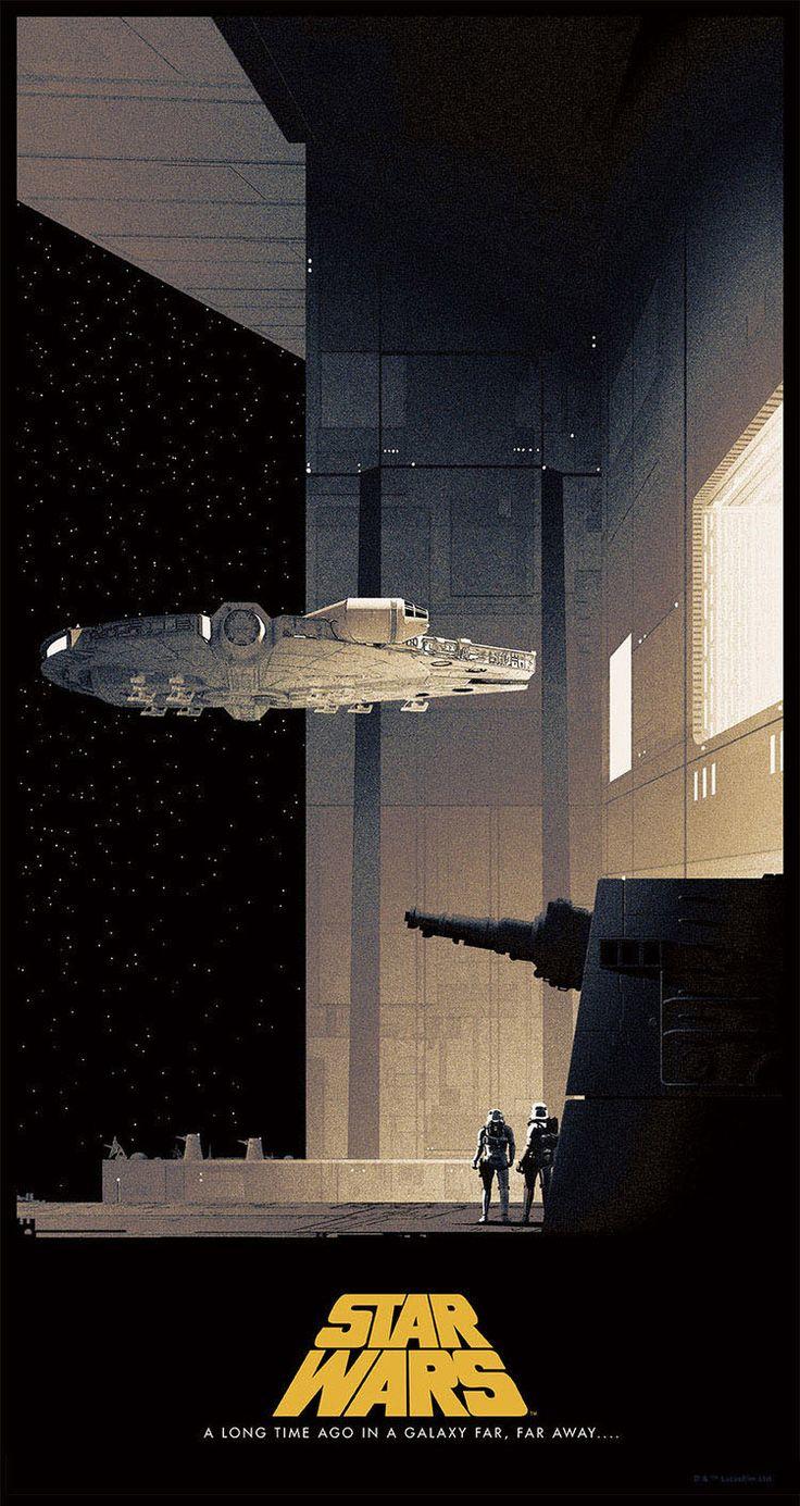 Gorgeous tributes to the original Star Wars trilogy by artist Matt Ferguson