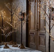 """SNOWY CHRISTMAS TWIG TREE LED PRE LIT 160cm (5ft,3"""") INDOOR /OUTDOOR"""