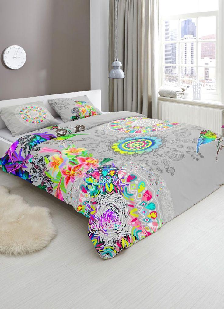 HIP is een merk dekbedovertrekken dat staat voor kleurrijke, moderne en vernieuwende dekbedovertrekken. Dekbedovertrekken van het merk HIP fleuren je slaapkamer op!   #hipdekbedovertrek #hip #mandala #rainbow #unicorn #bed #beddengoed #slaapkamer #dekbedovertrek