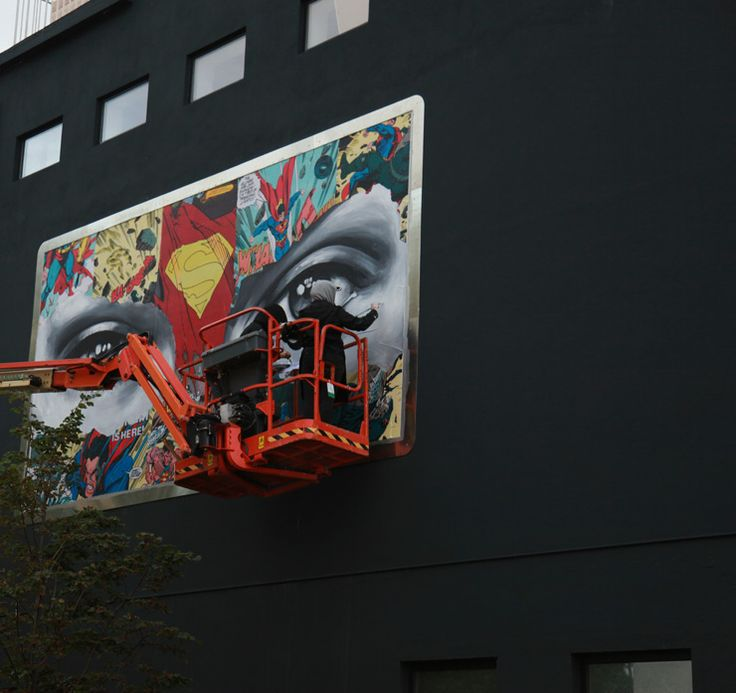 Nuart Day 3 : Picking Up Pace and Sandra Chevrier's Dramatic Eyes : Brooklyn Street Art