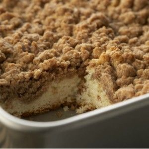 Cinnamon Crumb Cake Recipe - Holidays