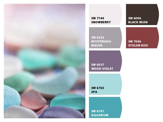 Chip It! by Sherwin-Williams – colors of sea