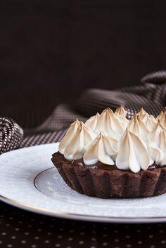 Тарт с молочным шоколадом и соленой карамелью - My recipe book
