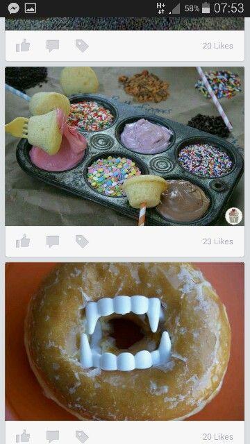 Cupcakes & Dips