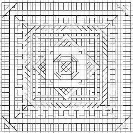 140 best Graph Paper Art images on Pinterest Blackwork - cross stitch graph paper