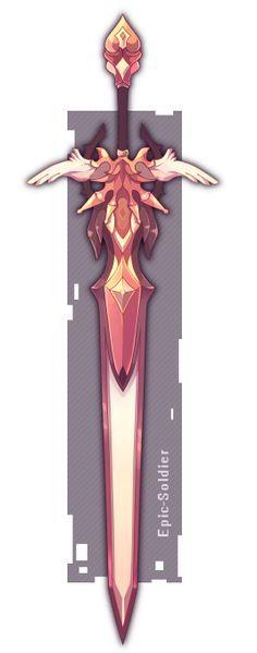 weapon commission by Epic-Soldier.deviantart.com on @DeviantArt