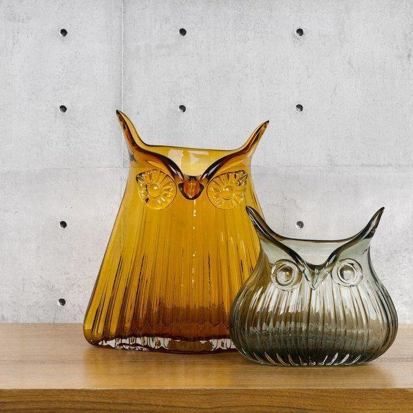 The Modern Home Large Amber Owl Vase  #gifts #quirky #sale #santa #mzube #gift #cool #birthday #stocking #shopping   http://www.mzube.co.uk